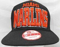 Miami Marlins MLB New Era 9fifty adjustable cap/hat