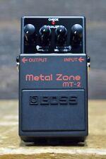 Boss MT-2 Metal Zone Distortion 3-Band EQ Wide Range Distortion Effect Pedal