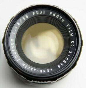 Fuji Fujinon 1:1.8 55mm Lens