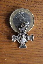 Cross Ancienne Médaille Religieuse Saint Enfant Jesus Benissez Nous 2