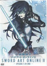 DVD Sword Art Online II Season 2 (TV 1 - 24 End)   with English subtitles