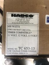 New Hadco 600 Watt Low Voltage Power Console Tc 653-13
