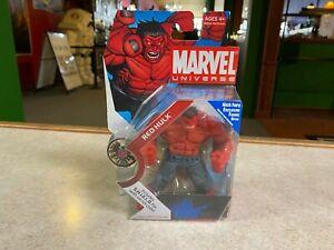 "Hasbro Marvel Universe 3.75 Series 4"" Action Figure NIP - 1 028 RED HULK"