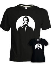 T-shirt BRIAN MOLKO Placebo band rock dark punk musica cotone nera uomo donna