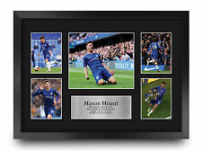 More details for mason mount a3 framed chelsea gifts printed autograph picture for football fans