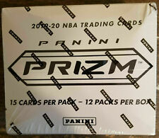 2019-20 Panini Prizm Basketball Factory Sealed Cello Box (12 Fat Pack)