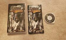 Monster Hunter Freedom Unite Sony PSP COMPLETE VIDEO GAME