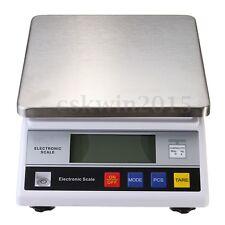 7.5kg x 0.1g Heavy Big LCD Digital Electric Food Balance Scale Lab Kitchen Weigh