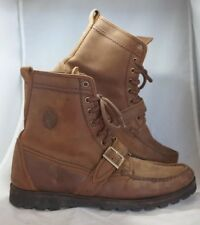 Frye Womens Brown All Leather Lace Up Work Boots High Top Size 11