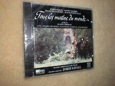 Tous Les Matins Du Monde cd Jordi Savall Marin Marais Sainte Columbe Orig NEW!