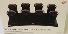 """T3 Volumizing Hot Rollers LUXE 12-piece Set, Roller Size 1"""" W/Storage Case New"""