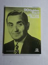 * 90 golden years Of Iriving berlin Songbook-piano/vocal