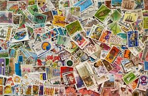 Singapore Stamps, Good collection of 300 stamps All Different -Used
