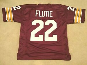 UNSIGNED CUSTOM Sewn Stitched Doug Flutie Maroon Jersey - M, L, XL, 2XL