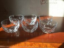Waterford Crystal Sheila Dessert Bowls