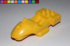 Lego Duplo - Toolo Karosserie Motorrad Fahrzeug - gelb - Action Wheelers - 2904