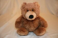 Gund Vintage Collectors Classic 1988 Closed Mouth Brown Bear 16� plush stuffed