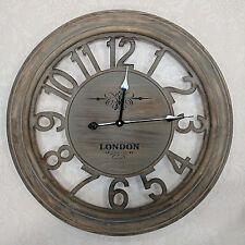 GRANDE orologio da parete in legno classico stile vintage francese Cucina Corridoio