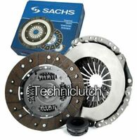 SACHS 3 PART CLUTCH KIT FOR AUDI 80 SALOON 2.0 E 16V