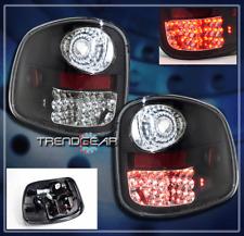 1997-2003 FORD F-150 FLARESIDE ALTEZZA BRAKE LED TAIL LIGHTS LAMP BLACK 98 01 02