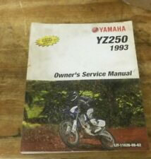 1993 Yamaha yz250 Motorcycle Owners Service Manual : LIT-11626-08-62