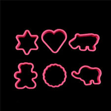 Bear Elephant Hippo Heart Shape Biscuit Cookie Cutter for Baking Pastry Tools HC