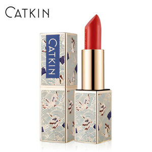 NEW CATKIN lipstick rouge shimmer coral silky smooth lip makeup waterproof