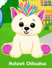 Webkinz Mohawk Chihuahua ( unused code tag only ) !CREDIBLE Proven Seller!