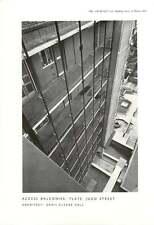 1956 Access Balconies On Block Of Flats In Judd Street