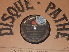 4411 pathe DANS MON PAYS salabert M.MAYOL chansonnette gaie BOU DOU BA DA BOUH