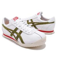 Asics Onitsuka Tiger Corsair White Moss Green Cork Red Men's Size 8 Sneakers