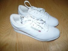 Women's Reebok Classic White Sneakers US 7 Sz Very Clean! Excellent Shape