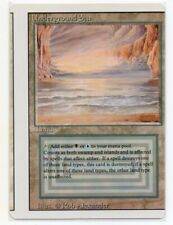MTG English Underground Sea Revised Side Miscut Misprint Shows Second Card NM