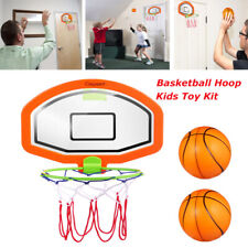 5 in 1 Basketball Hoop System Kids Goal Over The Door Indoor Sports with Ball US