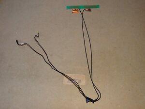 Novatech W25CSW Laptop WiFi Antenna & Cables. P/N: 6-23-7W25W-011