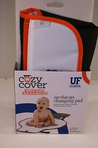 """Florida Gators Tide COZY COVER 20"""" x 23"""" On The Go Changing Pad Roll U of F"""