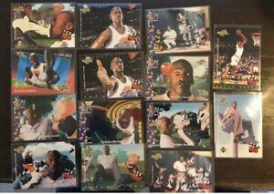 1996 Upper Deck Space Jam - Complete Base Set (60) Incl. 15 Michael Jordan Cards