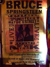 """Bruce Springsteen Poster Import Portugal 68"""" x 47"""""""