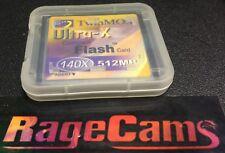 512MB TwinMos CF Card Compact Flash CompactFlash 512MO 140x For RCA LYRA x2400