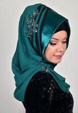 DRP51 Draperie Chiffon Fertig Kopftuch Hazir Türban Sal Tesettür Hijab Khimar
