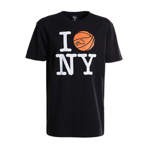 K1X I Ball NY Tee Men's Black White Orange Sportswear Athletic T-Shirt Top