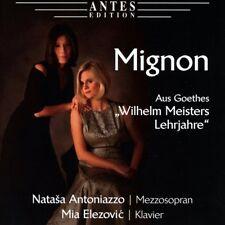 """CD  Mignon aus Goethes """"Wilhelm Meisters Lehrjahre"""" Natasa Antoniazzo (K127)"""