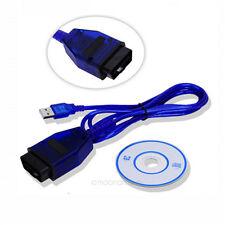 KKL VAG-COM 409.1 OBD 2 II USB Diagnostic Cable Auto Scanner Tool Interface DD