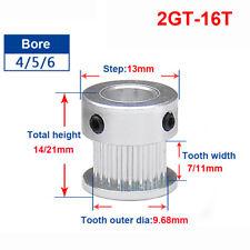 2GT-16T Timing Belt Pulley 4mm Bore For 6mm Width Belt For CNC 3D Printer Reprap