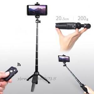 YUNTENG 3in1 Handheld Bluetooth Tripod Monopod Selfie Stick for i Phone 8 Plus X