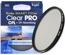 Kenko by Hoya 72mm Smart Clear PRO CPL + UV Absorbing Slim Lens Filter - New