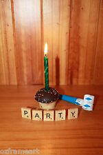 WOODEN SCRABBLE TILES PARTY CRAFT BIRTHDAY CELEBRATION SCRAP FREE POST