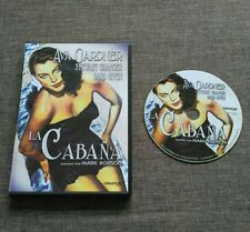 DVD LA CABAÑA - AVA GARDNER - STEWART GRANGER - DAVID NIVEN - CREATIVE FILMS