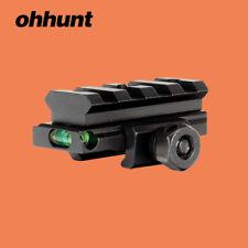 ohhunt Riser Rail Mount 4 Slot 20mm PIcatinny Rail Medium Profile Scope Level