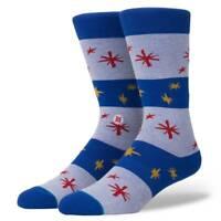 STANCE SOCKS NEW Men's Sparkle Socks Blue BNWT